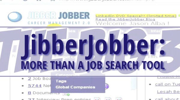 JibberJobber: More than a job search tool