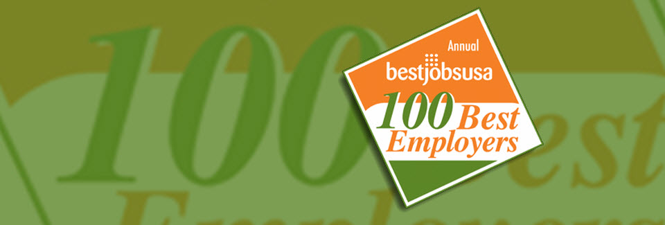 BestJobsUSA Top 100 Employers