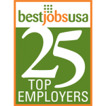 BestJobsUSA | Monthly Top 25 Employers